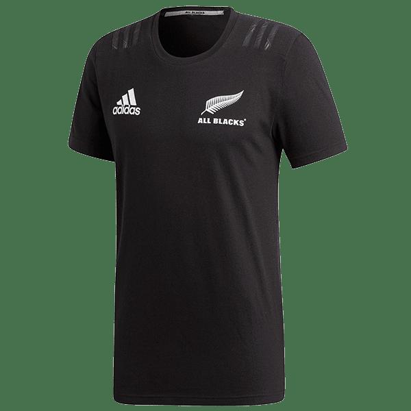 All Blacks Black Cotton T Shirt