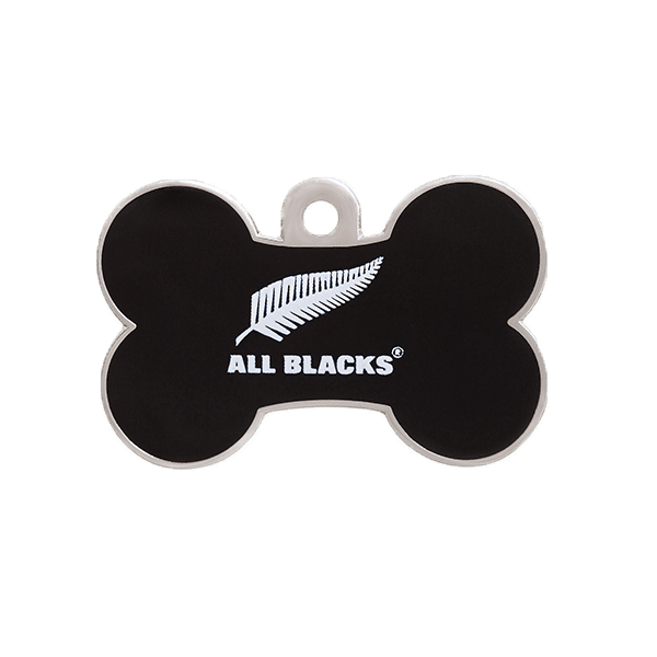 All Blacks Bone ID Tag