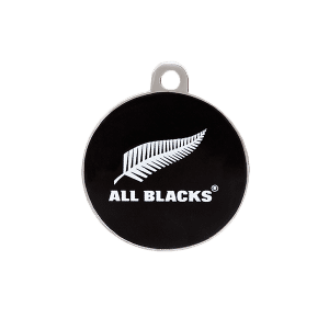 All Blacks Round ID Tag
