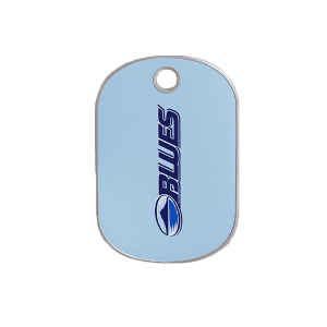 Blues Rectangle ID Tag