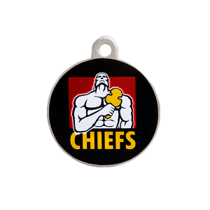 Chiefs Round ID Tag