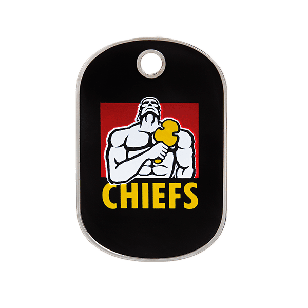 Chiefs Rectangle ID Tag