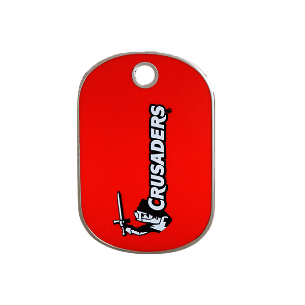 Crusaders Rectangle ID Tag