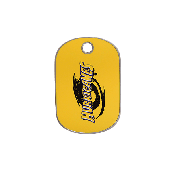 Hurricanes Rectangle ID Tag