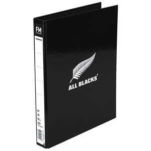 All Blacks Ringbinder A4