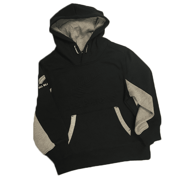 All Blacks Kids Pull on Hoodie