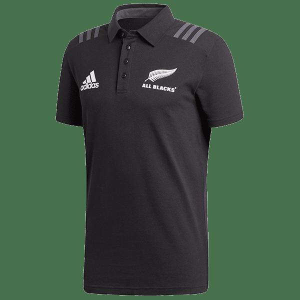 All Blacks Black Polo Shirt