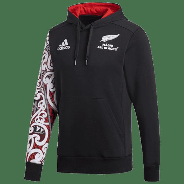 Maori All Blacks Red Hoodie
