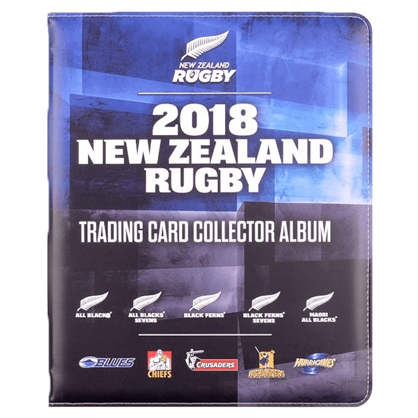 New Zealand Rugby Trading Card Album