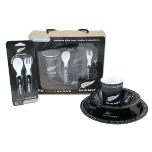 All Blacks Melamine 5pc Set