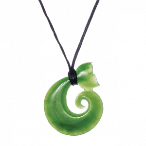 All Blacks Pounamu Whale Tail