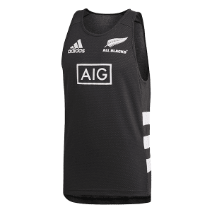 All Blacks 3-Stripe Singlet