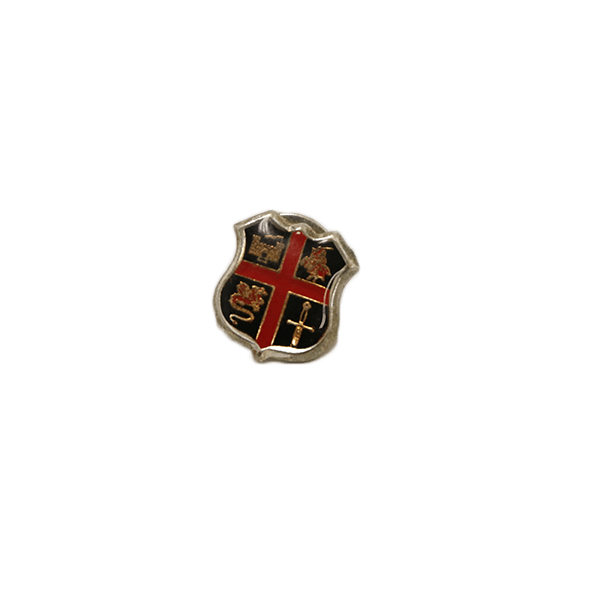 Crusaders Shield Pin
