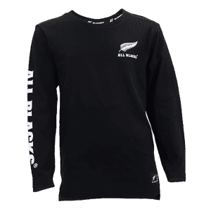 All Blacks Long Sleeve Kids T Shirt