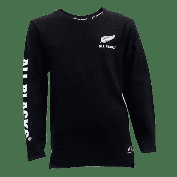 All Blacks Long Sleeve Kids T Shirt