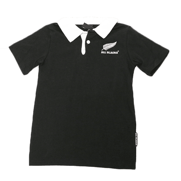 All Blacks Kids Rugby Jersey