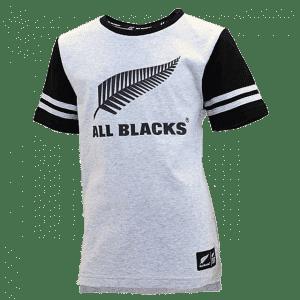 All Blacks Grey Marle T-Shirt