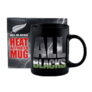 All Blacks Heat Activated Mug