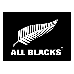 All Blacks See through Decal - White