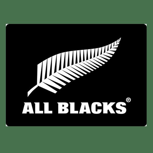 All Blacks See through Decal - White