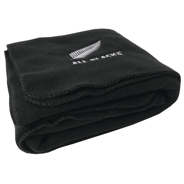 All Blacks Foldaway Fleece Blanket