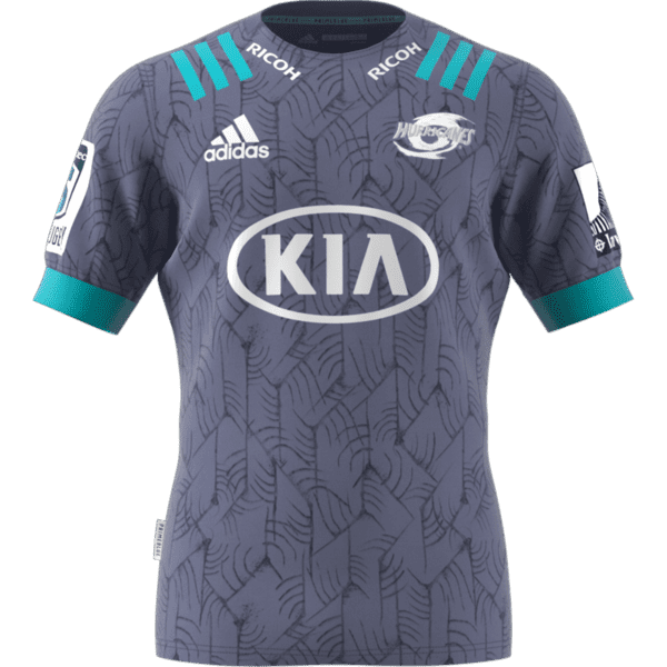 Hurricanes Primeblue Super Rugby Away Jersey