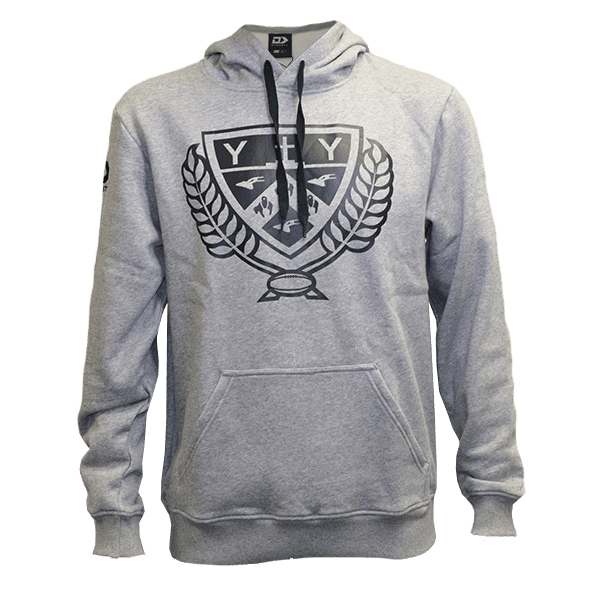 Casual hoodie to support the Canterbury rugby team