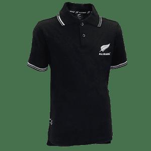 All Blacks Youth Polo Shirt