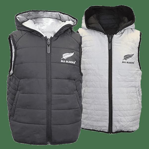 All Blacks Kids Reversible Puffa Vest
