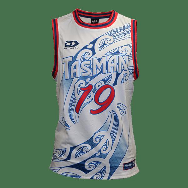 Tasman Mako Basketball Singlet