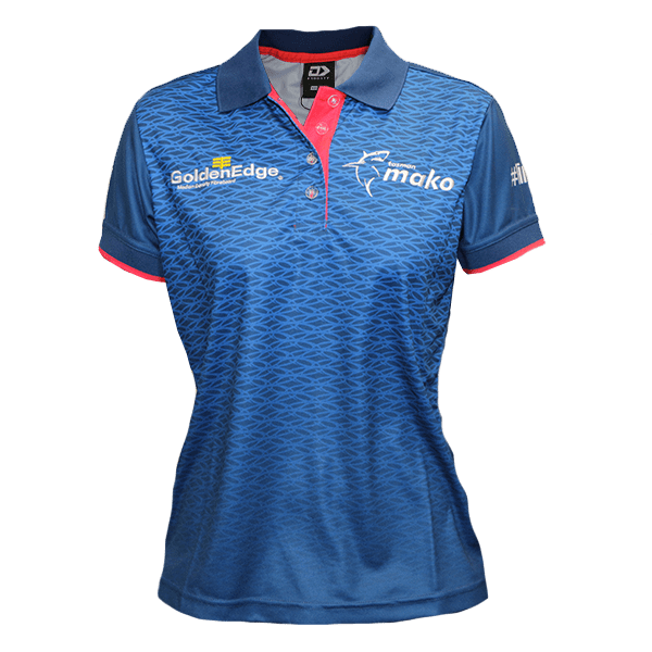 Tasman Mako Womens Media Polo Shirt