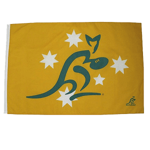 Wallabies Classic Large Flag