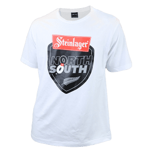 North vs South Supporters White Logo T Shirt